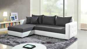 Living Room With Grey Corner Sofa Corner Sofa Bed Maximizing Room Space