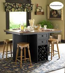 counter height kitchen island dining table work table kitchen island with seating oak black counter