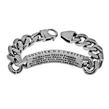 armor of god bracelet christian bracelet for men no weapon armor of god stainless