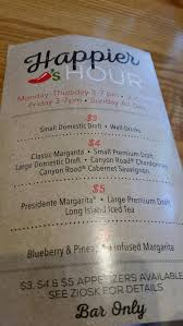 chili s grill bar dickinson menu prices restaurant reviews
