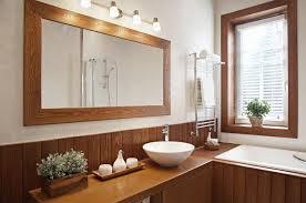 How To Hang Bathroom Mirror How High Should I Hang A Bathroom Mirror Hunker