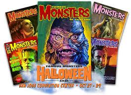 famous halloween monsters have fun at the famous monsters of filmland monster bash on