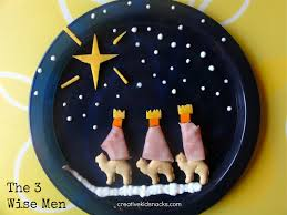 the 3 kings 3 wise men snack for feast of the epiphany on jan