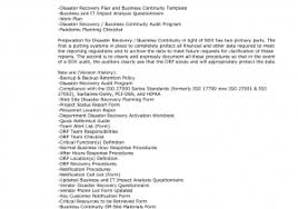 disaster recovery report template and disaster recovery in the