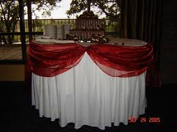 wedding supply rentals simply weddings table swags linen rentals fort worth