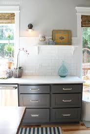 Charcoal Grey Kitchen Cabinets Kitchen Remodel Before U0026 After Reveal Dove White Benjamin