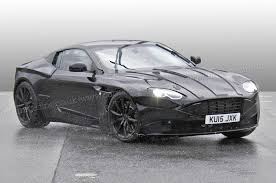 matte black aston martin new aston martin db11 readies for 2016 launch all the latest on