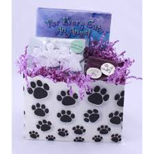 bereavement gift baskets cat angel sympathy baskets healing baskets