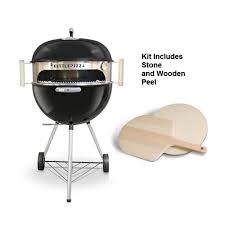 Backyard Grills Walmart - kettlepizza deluxe kit for 18 5 and 22 5 in kettle grills