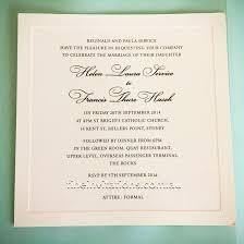 Catholic Wedding Invitations Formal Wedding Invitations Fine Invitations Sydney