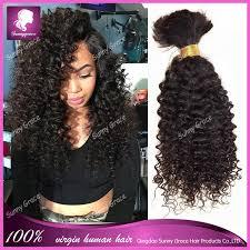 human curly hair for crotchet braiding 100 human hair for braiding crochet braids mongolian afro kinky