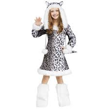 buy kids snow leopard costume