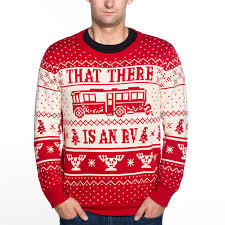 that there is an rv ugly christmas sweater christmas vacation