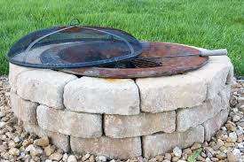 Small Patio Fire Pit First Fire Pit Design Ideas Exterior Decoration Stones Fire Pit