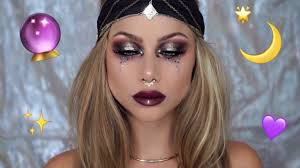 Gypsy Makeup Tutorial Halloween by Fortune Teller Makeup Tutorial Halloween Costume