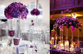 purple wedding centerpieces purple and silver wedding centerpieces reference for wedding