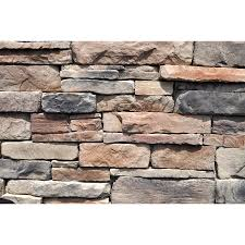 exterior dry stack stone veneer natural stone retaining wall