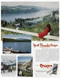 Oregon travel and tourism images Vintage travel and tourism ads of the 1940s page 18 jpg