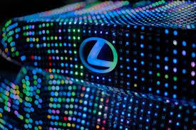lexus corporate torrance lexus unveils led covered lit is with premiere of dua lipa u0027s