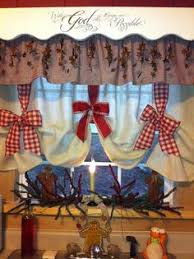 Christmas Kitchen Curtains by Image Result For Plaid Curtains With Star Trim Curtains
