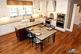 kitchen island with attached dining table kitchen islands with tables attached coryc me