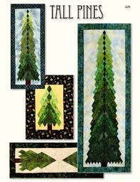 tall pines wall hanging table runner pattern by irish chain qj5 047