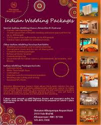 wedding planner packages wedding venues in albuquerque nm sheraton albuquerque airport hotel