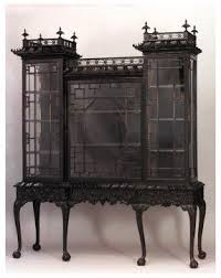 Curio Cabinets Pair Chinese Curio Cabinets Foter