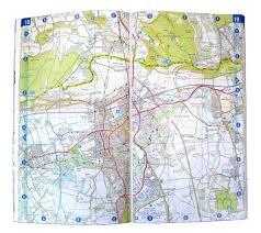 map az ordnance survey a z map the national trails ordnance survey