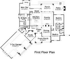 First Floor Plan House 1431 Best Floor Plans Images On Pinterest Craftsman House Plans