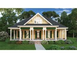 country cottage house plans wraparound porches cool this pleasant country cottage hwbdo76447