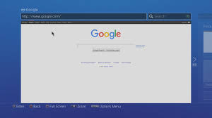 how to get internet browser on ps4 youtube