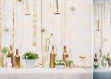 wine bottle wedding centerpieces wine bottle centerpieces budget friendly and looking chic