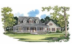 country home plans with porches picturesque porch hwbdo02244 farmhouse home plans from