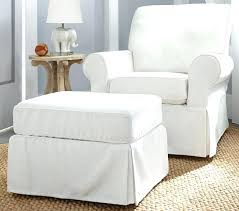 Swivel Chair And Ottoman Mesmerizing Ottoman Chair Taptotrip Me