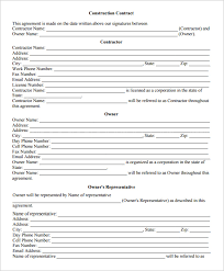 job agreement contract employment agreement contract sample 9