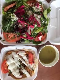 Mediterranean Kitchen Kirkland - chicken salad chicken on the side 9 95 yelp