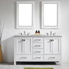 Bathrooms With Double Vanities Small Double Vanity Wayfair