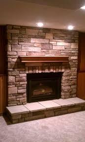 gas fireplace stones binhminh decoration