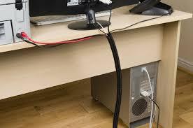 Computer Desk Cord Management Uncategorized Wire Management Solutions For Stunning Desk Wire