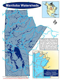 Manitoba Canada Map by Water Manitoba Wildlands