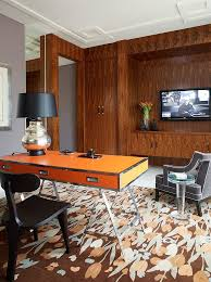 Orange Livingroom by Trend 25 Vibrant Home Offices With Bold Orange Brilliance