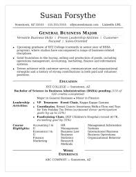 college student resume sles for summer jobs sle college student resume resumes for summer internship no