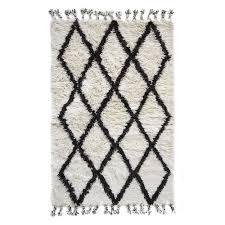 berber wool shag rug mocha diamond temple u0026 webster