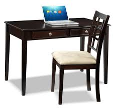 Office Table And Chair Set by Tyndall Desk And Chair Package Espresso Leon U0027s
