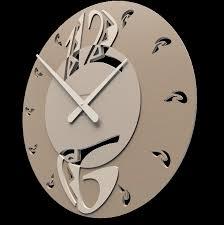 pendule moderne cuisine getek grande horloge murale collection avec enchanteur design pas