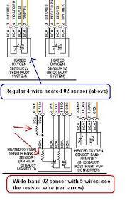 4 wire o2 sensor diagram dolgular com