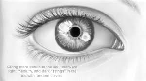 how to draw the realistic eye close up youtube