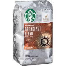 starbucks breakfast blend ground coffee 12 oz walmart