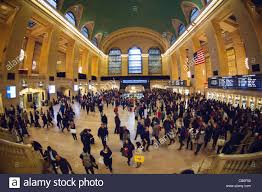 travelers crowd grand central terminal in new york for the great